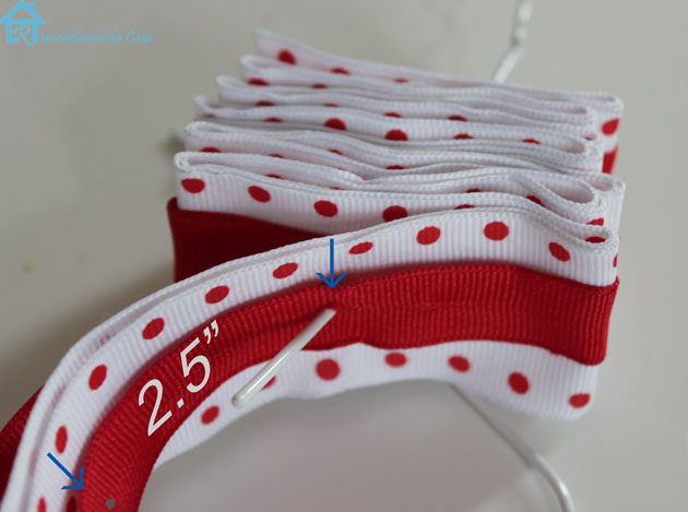 spacing ribbon holes