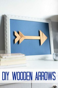 DIY Wooden Arrows