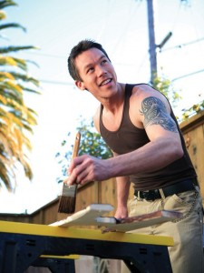 David Bromstad painting