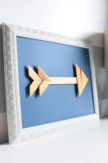 DIY Woodn Arrows