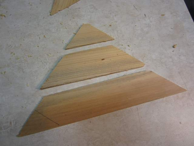 Wooden Arrow Head
