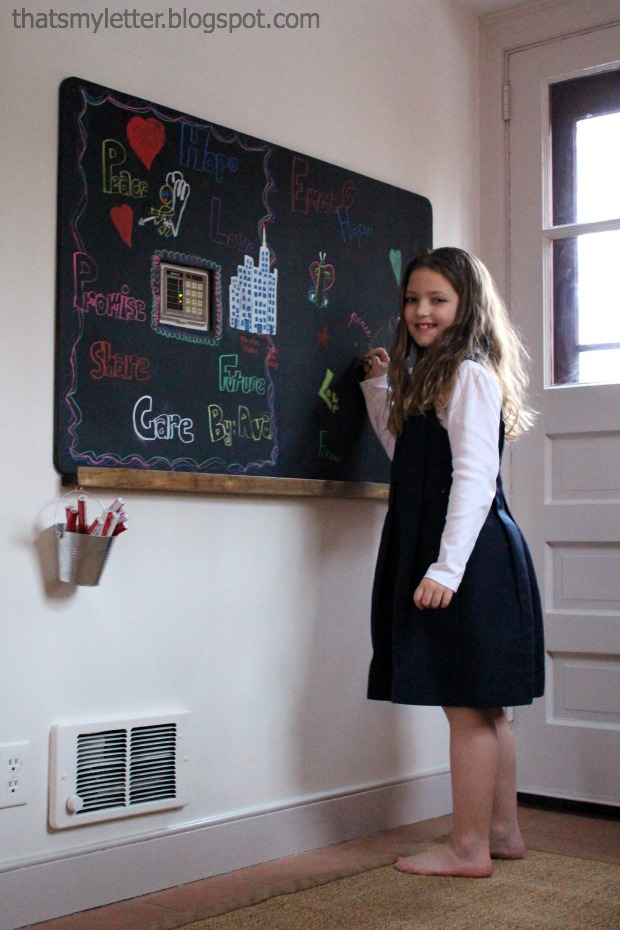 chalkboard with ledge 2