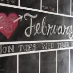 DIY Chalkboard Calendar | Pretty Handy Girl