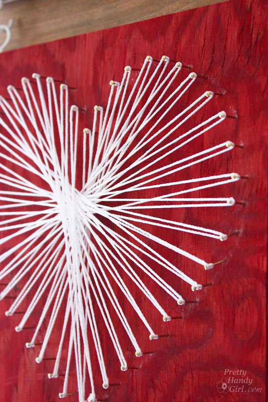 All You Need is...Valentine String Art | Pretty Handy Girl
