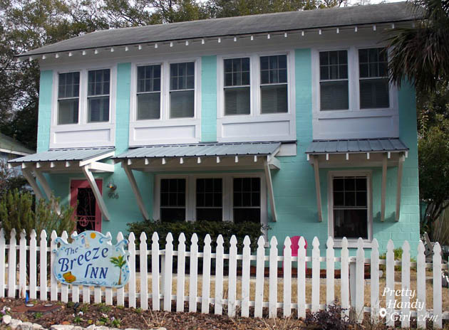 Breeze Inn Cottage - Tybee Island | Pretty Handy Girl