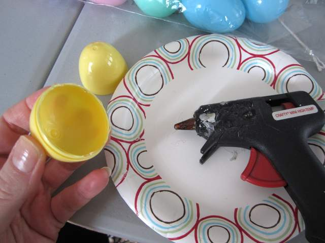Plastic Easter Egg Craft