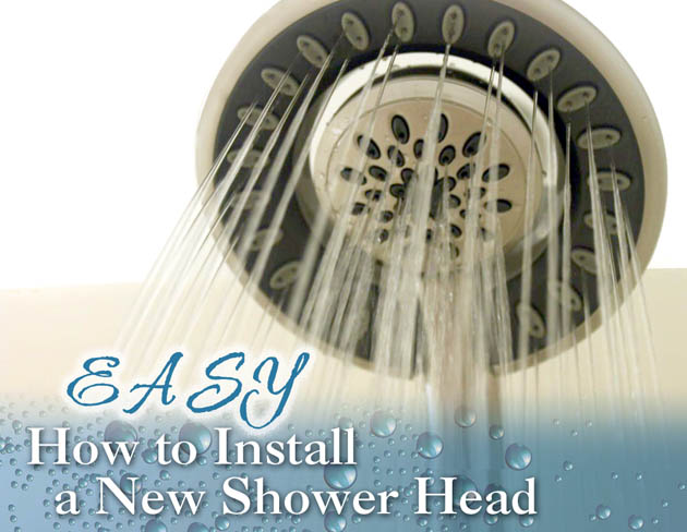 How to Easily Install a New Shower Head - Pretty Handy Girl