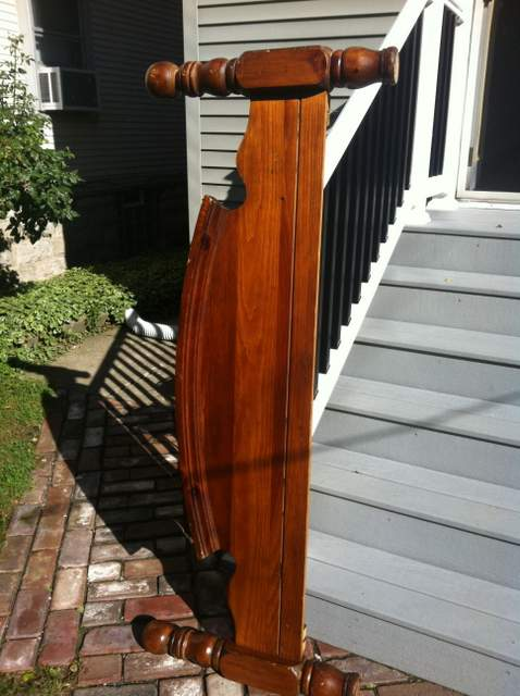 Foot Board Before