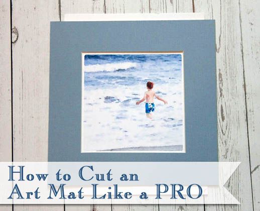 How to Cut an Art Mat Like a Pro | Pretty Handy Girl
