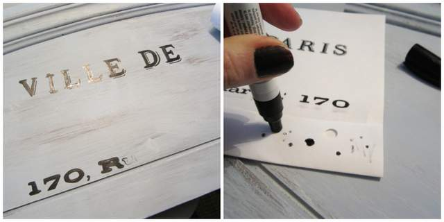 Paint Pen for Old Sign