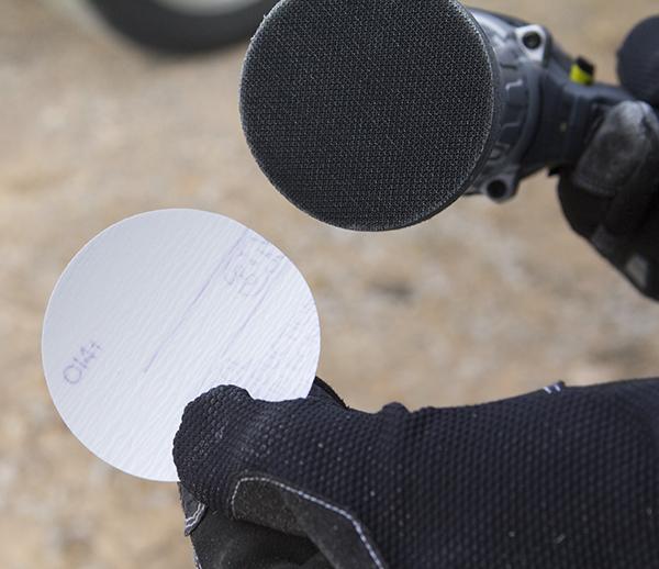 P800 Grit Sanding Disc