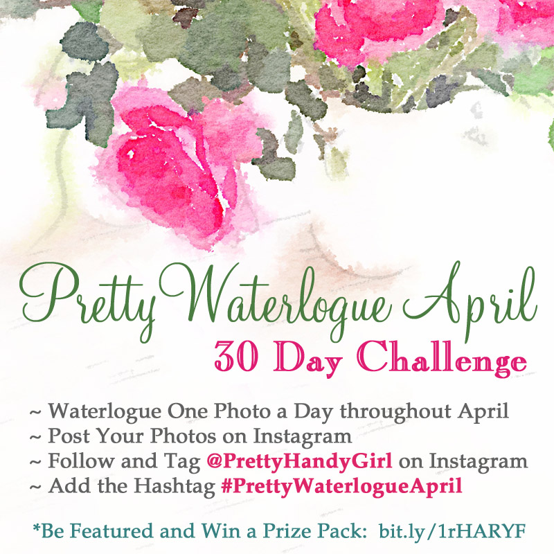 Pretty Waterlogue April | Photo a Day Challenge