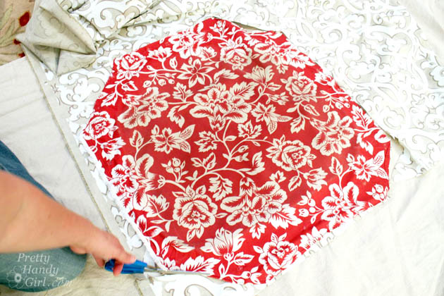 How to Re-upholster a Seat and Protect the Fabric   Pretty Handy Girl