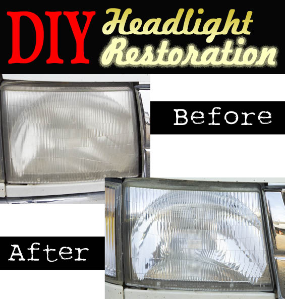 DIY Headlight Restoration | Pretty Handy Girl