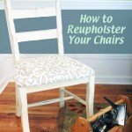 How to Easily Reupholster Your Chairs | Pretty Handy Girl