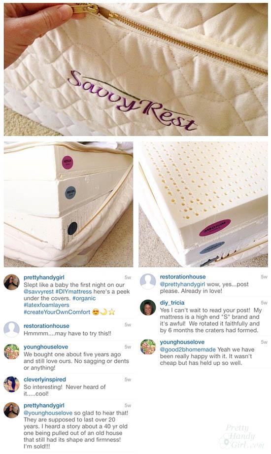A DIY Mattress?! How I Chose a Savvy Rest Mattress   Pretty Handy Girl