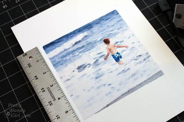 How To Cut An Art Mat Like A Pro Pretty Handy Girl