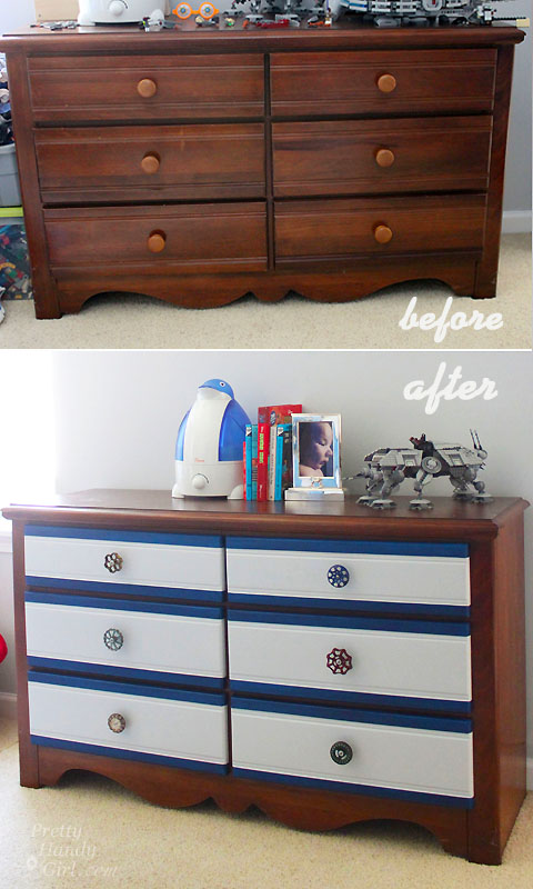 with inspirational new elegant fun drawers thrifty different ideas of treasures best redone multi pinterest dressers on drawer dresser colored