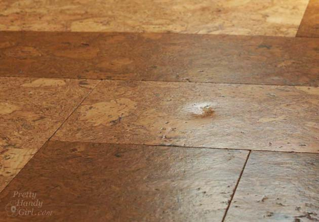 Update: Our Cork Floors One Year Later | Pretty Handy Girl