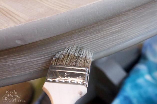 Faux Weathered Gray Wood Grain Tutorial   Pretty Handy Girl