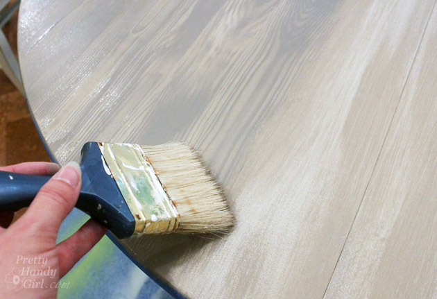How To Faux Finish Weathered Wood Grain Pretty Handy Girl
