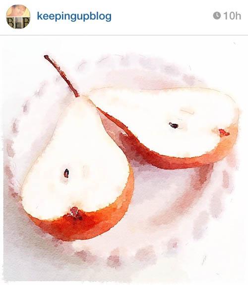 keepingupblog-pears