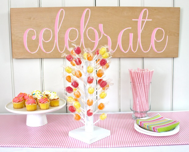 DIY Lollipop Stand Pretty Handy Girl Awesome Lollipop Stands Display