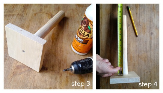 lollipop stand steps 3 & 4