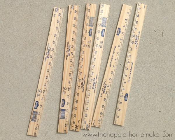 materials yardstick star