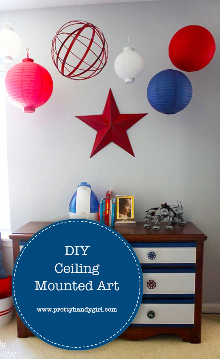 How to Hang Art From the Ceiling
