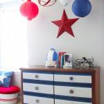 Hanging Ceiling Art | Spheres & Lanterns | Pretty Handy Girl
