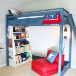A Blue Loft Bed for My Son