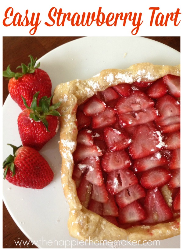 easy strawberry tart recipe