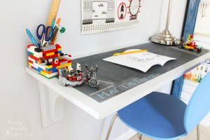 How to Make a Chalkboard Surface Desk | Pretty Handy Girl