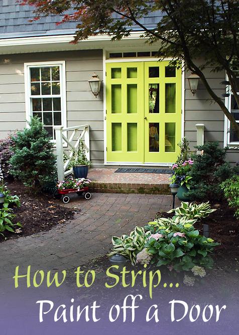 How to Strip Paint off a Door   Pretty Handy Girl