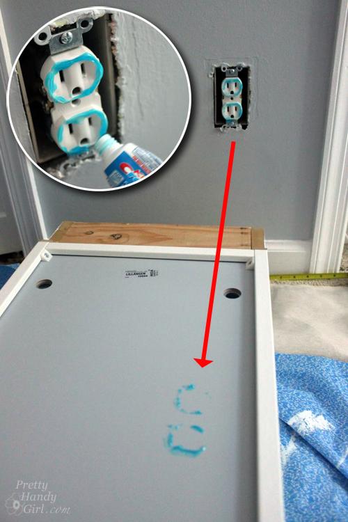 Wall Mounted IKEA LILLÅNGEN Mirrored Cabinet Turned Stuffed Animal Storage  | Pretty Handy Girl