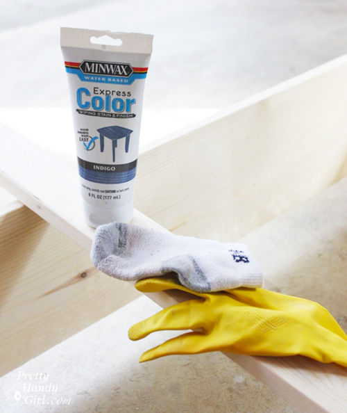 Minwax Express Color Indigo Minwax Express Color Wiping