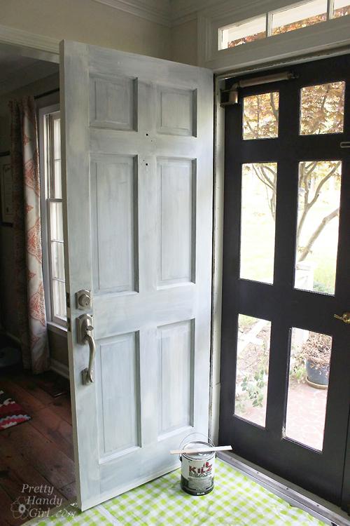 How to Strip...Paint Off a Door - Pretty Handy Girl