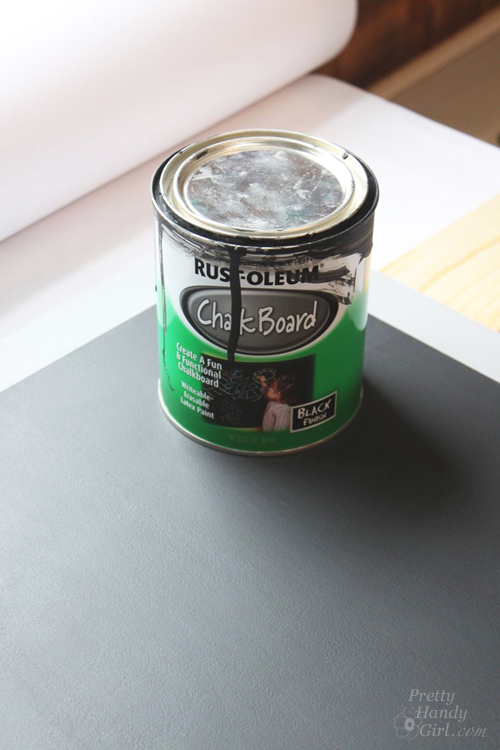 How to Make a Chalkboard Surface Desk   Pretty Handy Girl
