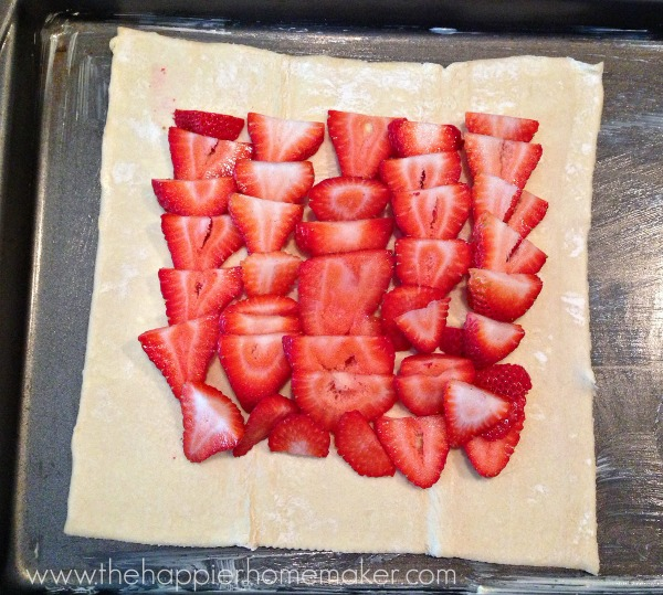 strawberry tart recipe instructions