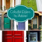 32 Colorful Doors to Adore