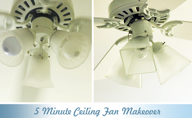 5 minute update for your ceiling fan pretty handy girl 5 minute ceiling fan update pretty handy girl mozeypictures Gallery