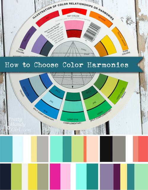 How to Choose Color Harmonies | Pretty Handy Girl