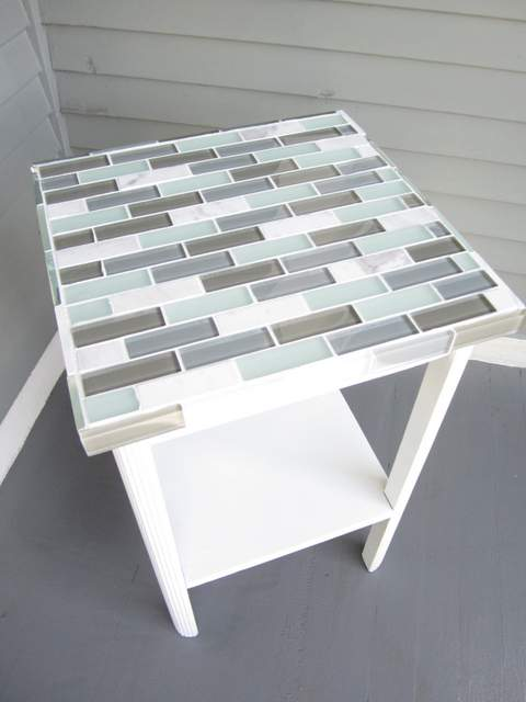Tiled Small Table Wrought Iron And Tile Coffee Table