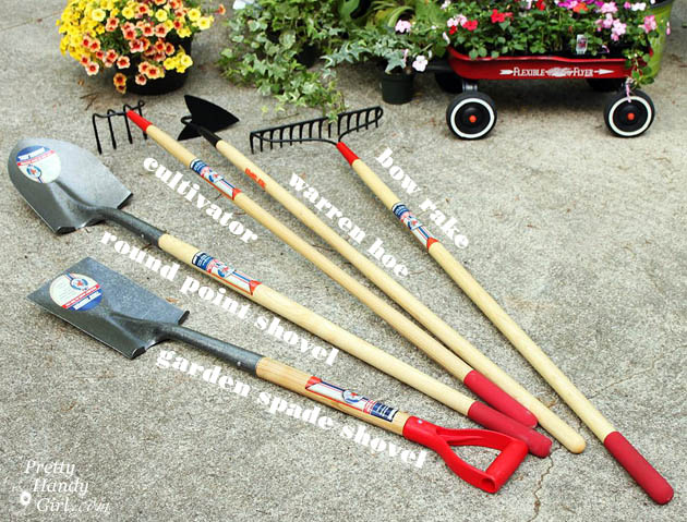 Landscaping 101 tools planting and adding color for Pretty garden tools set