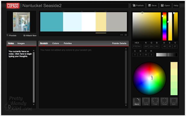 Copaso color palette | Pretty Handy Girl