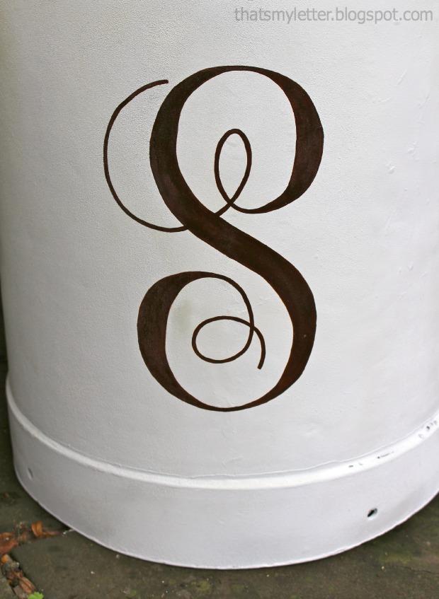 milk jug side table 3