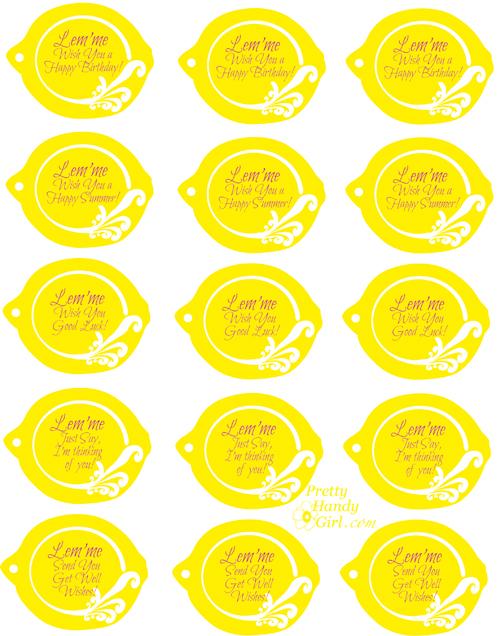 Cute Lemons And Lemonade