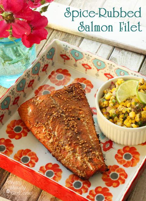 Spice-Rubbed Salmon Recipe | Pretty Handy Girl