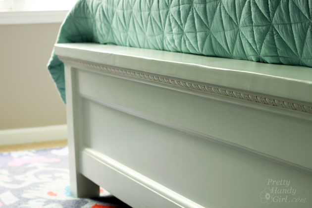 Fresh Modified King Size Farmhouse Bed with Storage Drawers Pretty Handy Girl